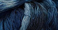 TraciBunkers.com-scintillation yarn in indigo